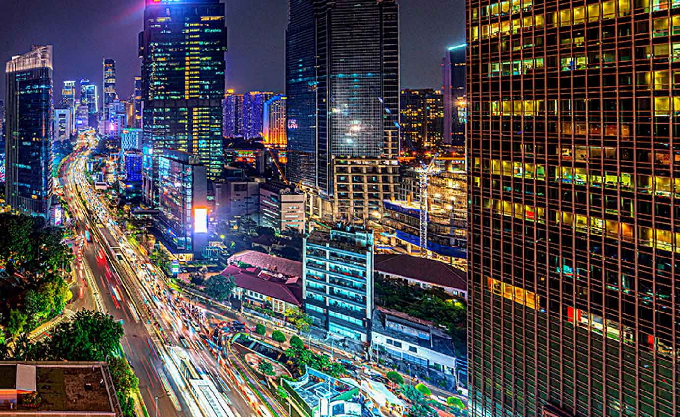 Gemerlap Ibu Kota Jakarta
