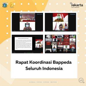 Rapat Koordinasi Bappeda Seluruh Indonesia