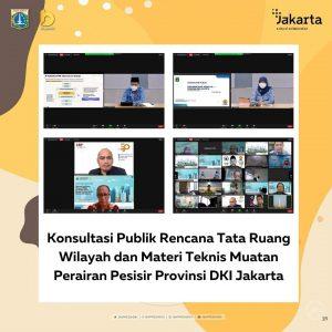 Konsultasi Publik Rencana Tata Ruang Wilayah dan Materi Teknis Muatan Perairan Pesisir Provinsi DKI Jakarta